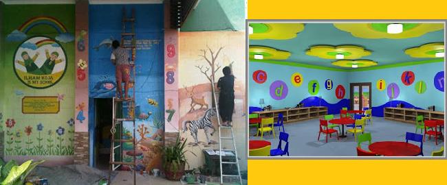 Jasa lukis dinding for Mural untuk kanak kanak