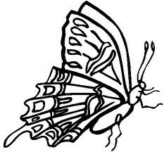 butterfly coloring pages, kids coloring pages