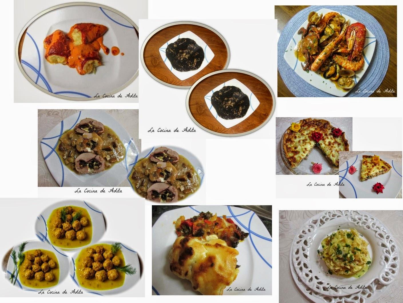 Ocho platos para estas fiestas cocina y thermomix for Cocina para fiestas