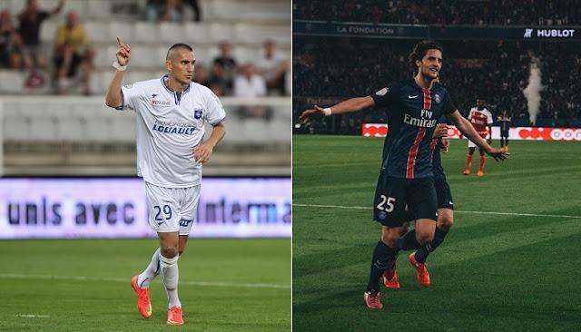 AJ Auxerre vs PSG en vivo
