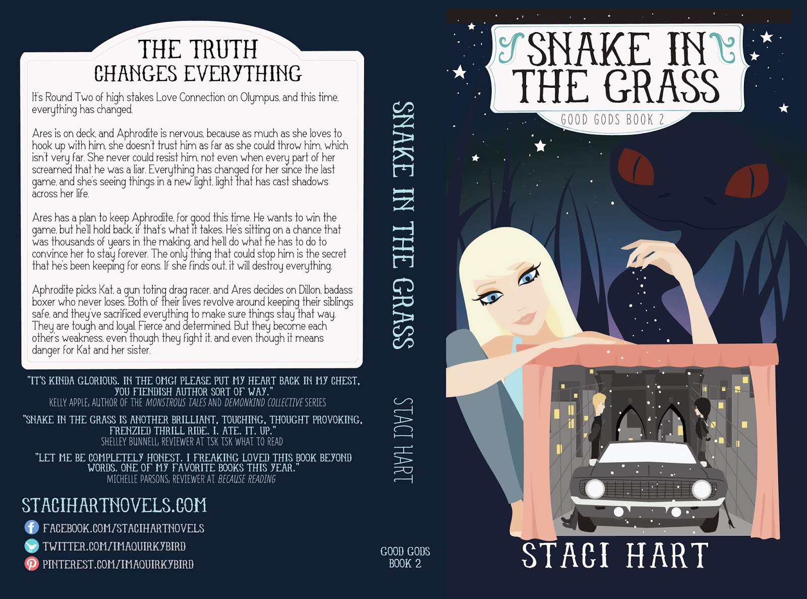 Snake in the Grass by Staci Hart
