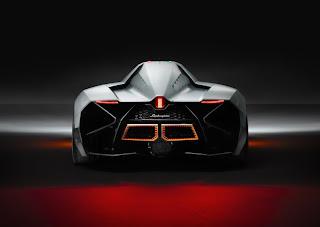 Lamborghini Egoista back