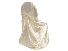 Nu Wrap Satin Chair Covers