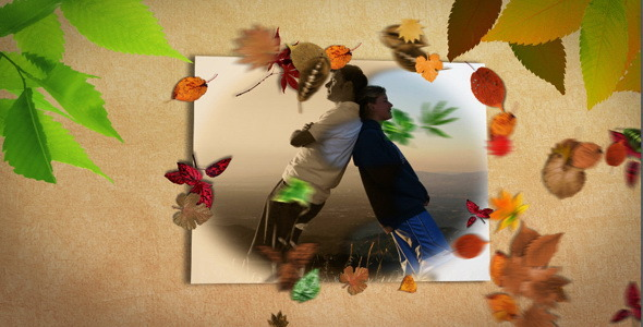 VideoHive Slideshow Golden Autumn