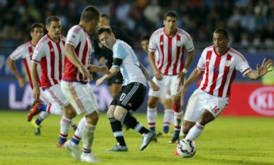 Copa America 2015 Semifinals: Argentina vs Paraguay Live Stream