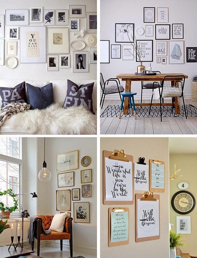 Decorare una parete con i quadri home shabby home for Quadri parete