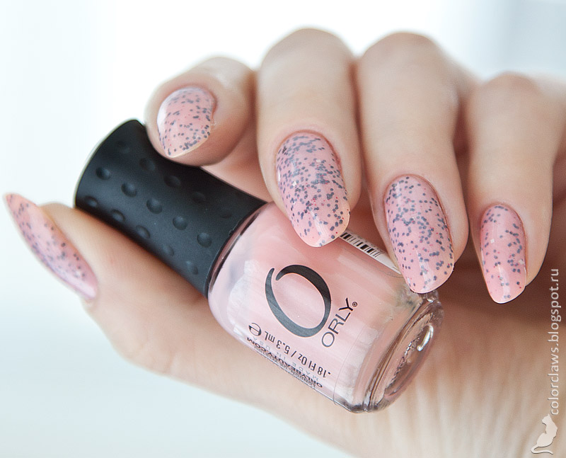 Orly Je T'aime + Digital Glitter