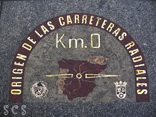 Kilómetro 0, Madrid by Susana Cabeza