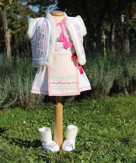 Costum Popular Botez Fetite Codruta