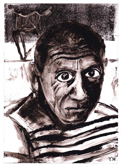 Pablo Picasso by Yukié Matsushita