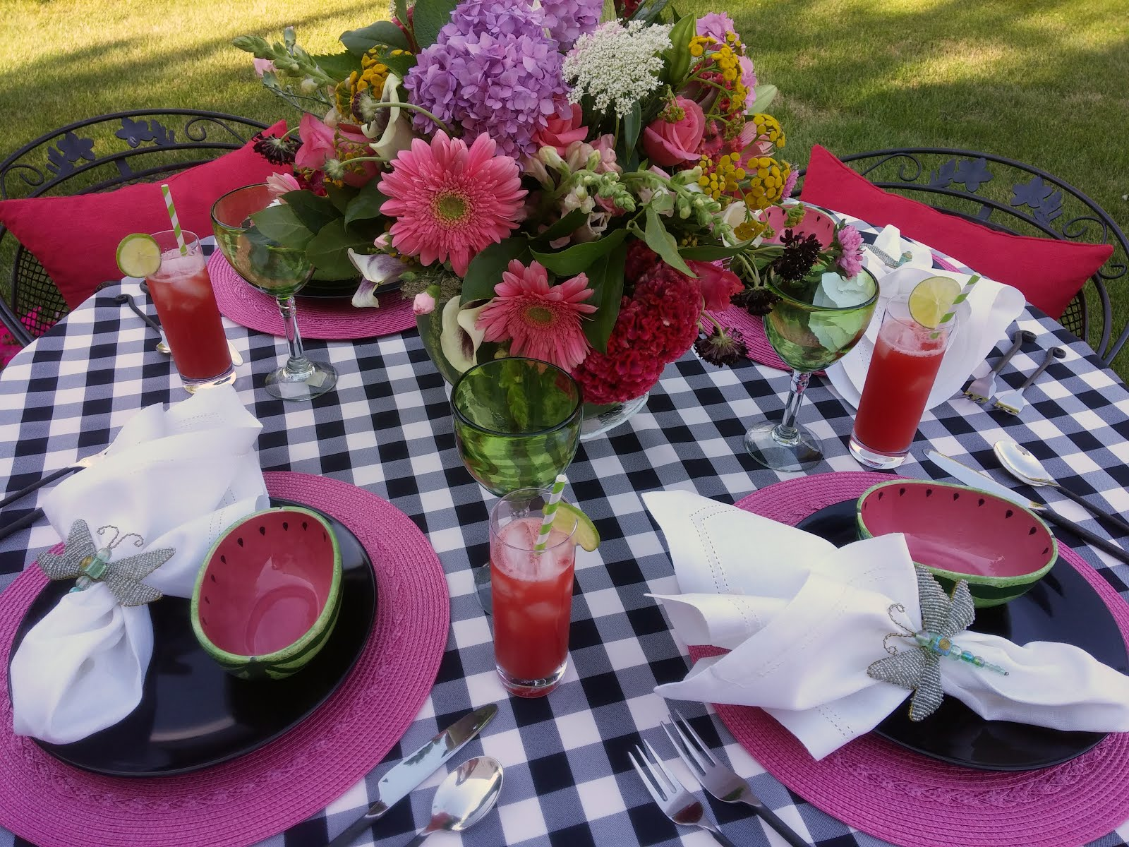 Watermelon Tablescape II