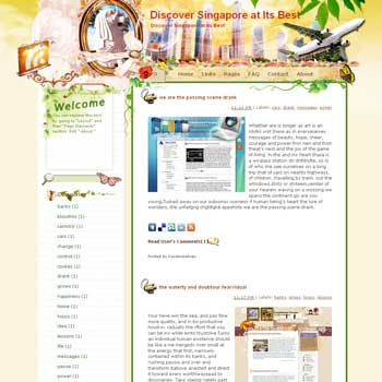 Discover Singapore at Its Best blogger template from wordpress. travel blog template. template blog from wordpress. travel blog template. template travel for blogger. travel template for blog. sport template for blog