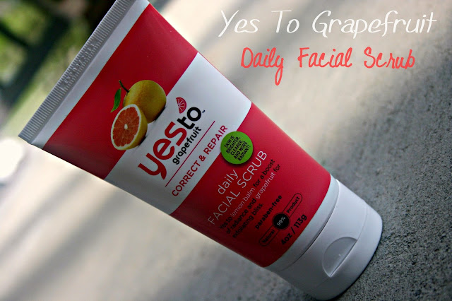 Yes to Grapefruit Daily Facial Scrub Review