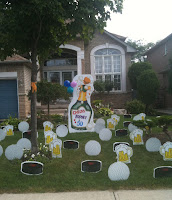 Birthday Lawn Signs Has Astonished Happy Clients For Over 20 Years With Our Yard Greetings Display