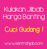Jilbab Cuci Gudang