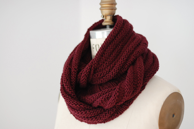 Home Ec Workshop: Knitting: Infinity Scarf/Cowl
