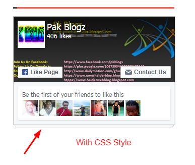 How To Customize Facebook Page Plugin for Bloger Blog Or Websites