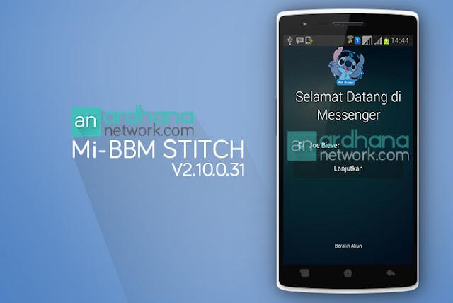 Mi-BBM Stitch Edition
