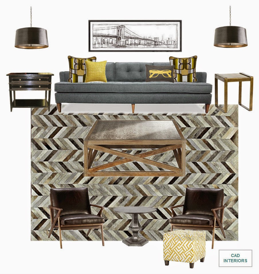 Mad Men Accessories cad interiors - affordable stylish interiors
