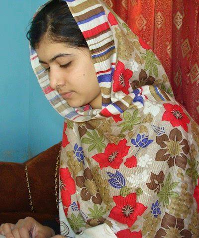 Malala is studying