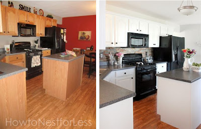 Kitchen Makeover Reveal (Before and After)