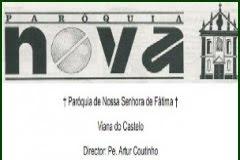 """JORNAL """"Paróquia Nova"""