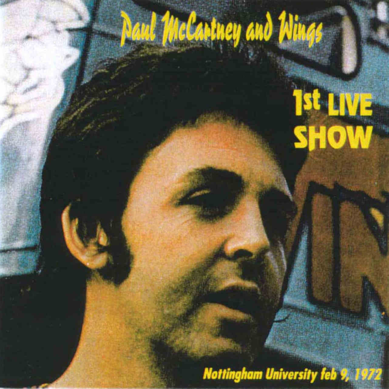 Paul McCartney & Wings: 1st Live Show. Hull, East Riding