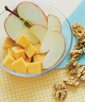 Apple Cheese Walnuts 11 Quick and Healthy Breakfast Idea - Fit and Fabulous Friday