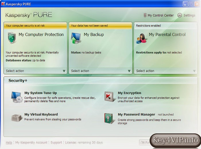 Kaspersky Pure 3.0 (13.0.2.558) Full Key,Phần mềm diệt Virus danh tiếng