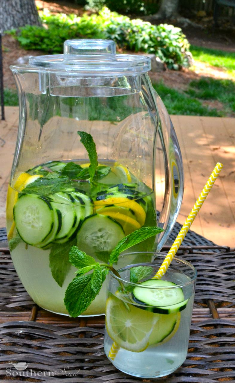 Infused Waters | A Southern Soul