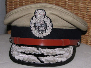west bengal police sub inspector cap