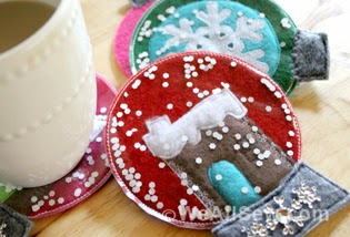 http://weallsew.com/2013/11/21/how-to-make-gingerbread-house-snow-globe-coasters-by-jenelle-montilone-for-weallsew/