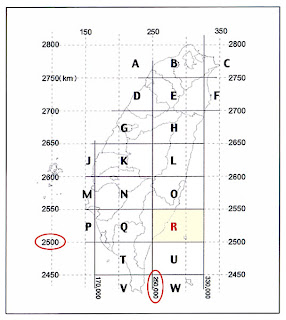grid 01bb 野外新知: 台灣電力座標系統的操作與介紹