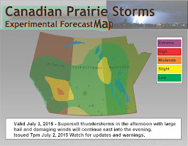 Experimental Forecast Map