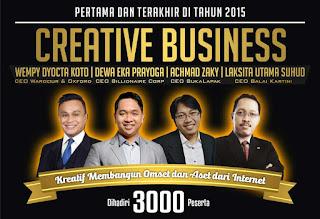 Seminar Bisnis Creative Business