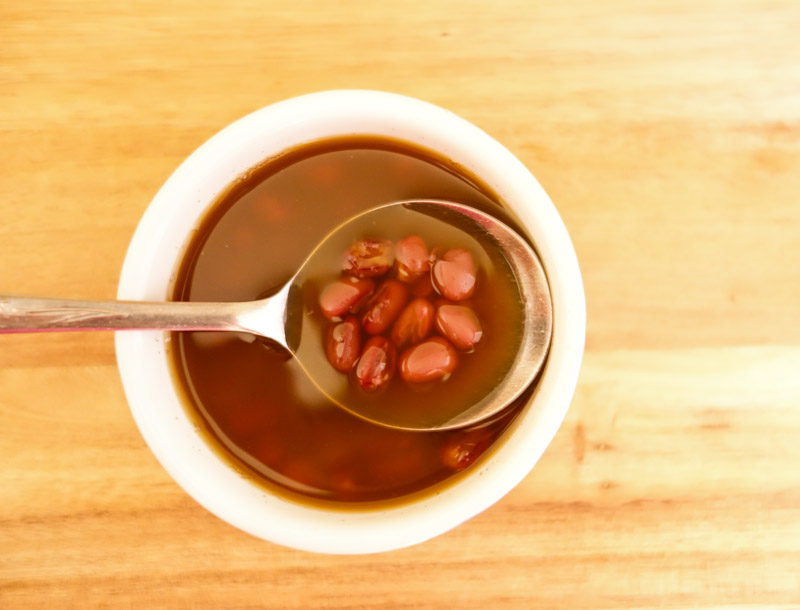 sweet red bean soup a simple asian dessert just a short and sweet one ...