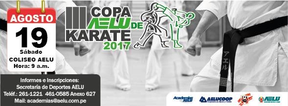 "III CAMPEONATO DE KARATE ""Copa AELU 2017"" Lima-Perù"