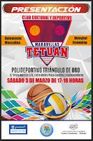 Presentación del Club Cultural y Deportivo Maravillas Tetuán