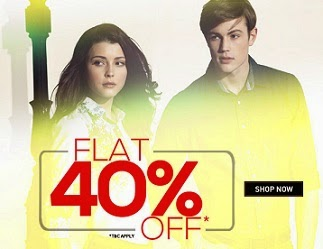 Trendin Offer: Flat 40% + Extra 10% on Big Brand Men's / Women's Apparels (LP | Peter England | Allen Solly | Van Heusen & more) @ Trendin