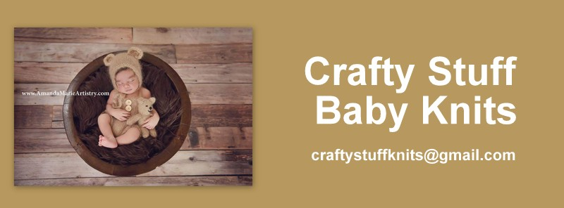 Crafty Stuff Baby Knits and Photo Props