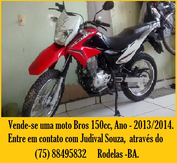 Vende-se uma Moto Bros