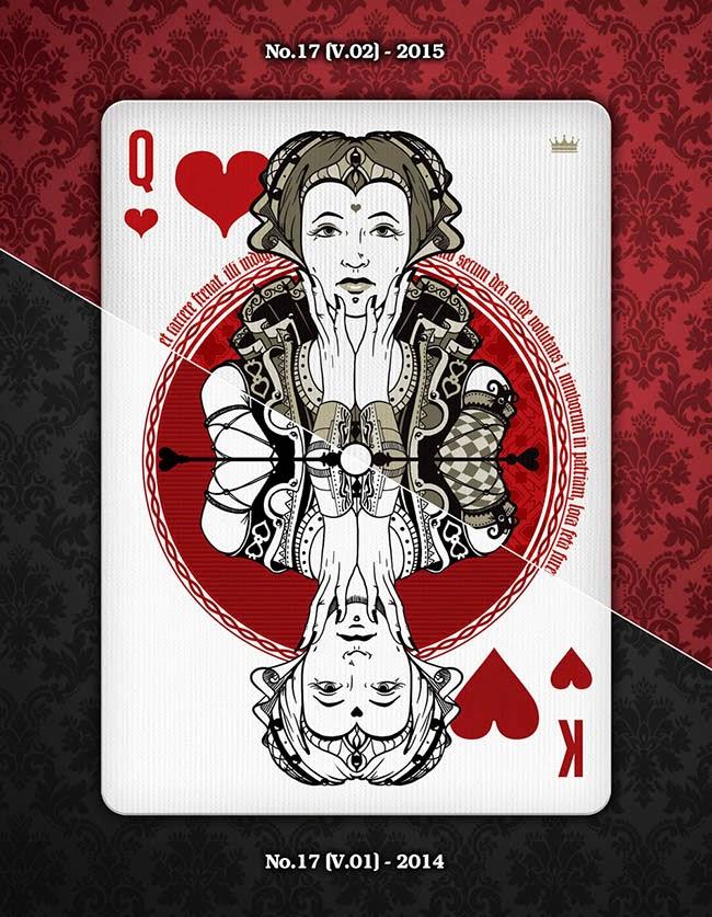 Kickstarter: No. 17 Playing Cards by Stockholm17