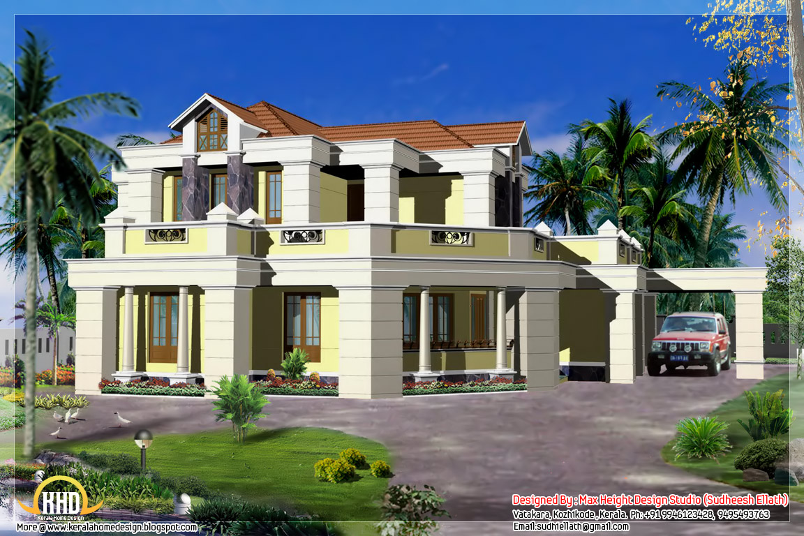 Indian house designs kerala home design architecture house plans