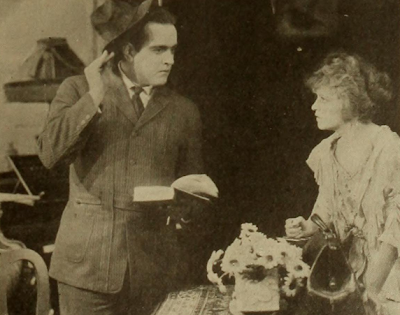 "Marguerite Clayton and Richard Travers in ""The Egg"""