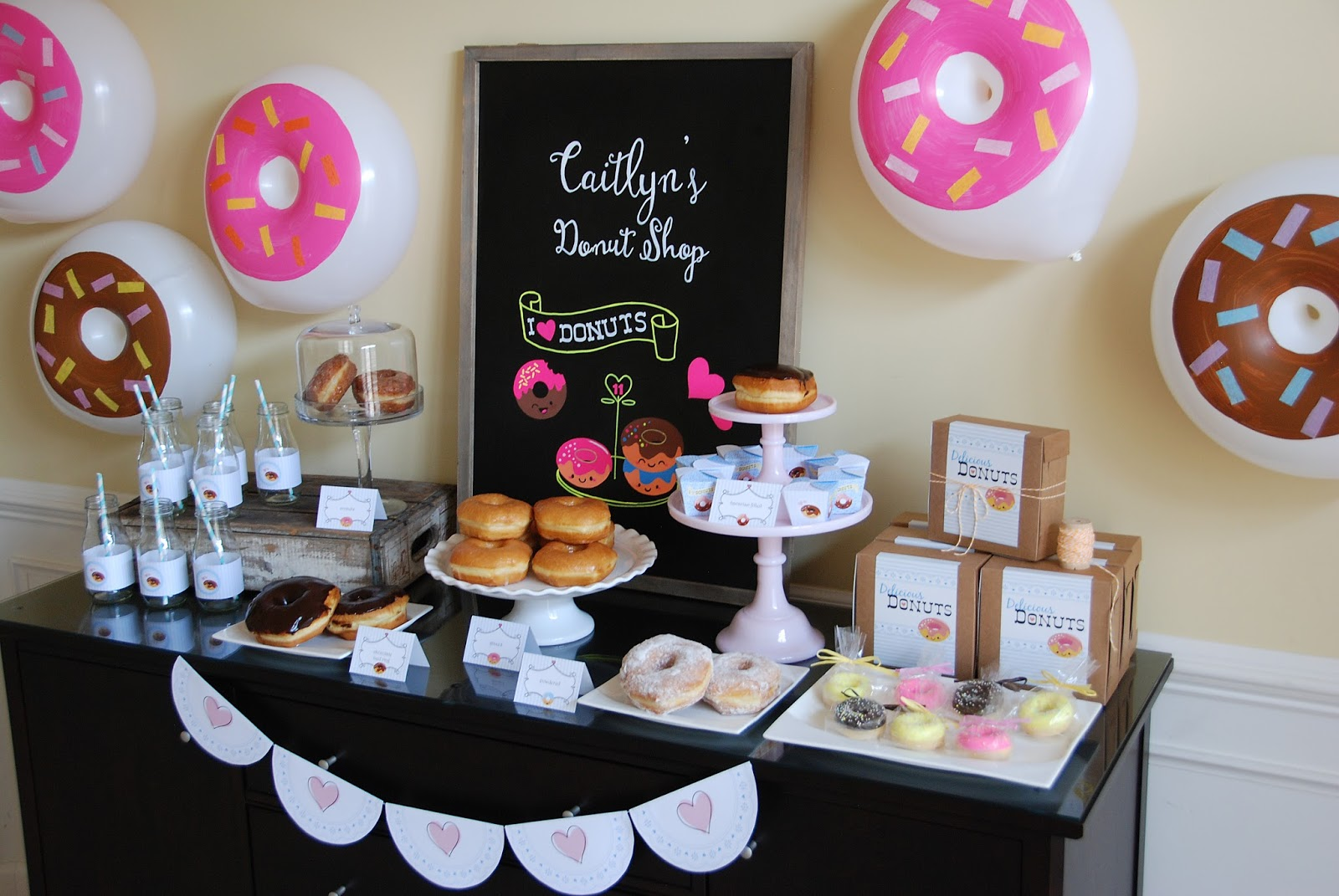Pure Joy Events Donut Birthday Party