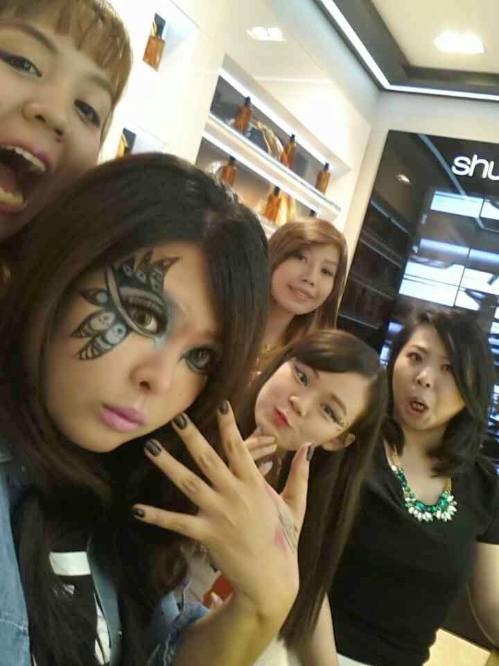 shu uemura indonesia blogger, shu uemura calligraph:ink , shu uemura makeup event