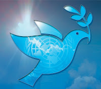 logo oficial do Dia Internacional da Paz - International Peace Day