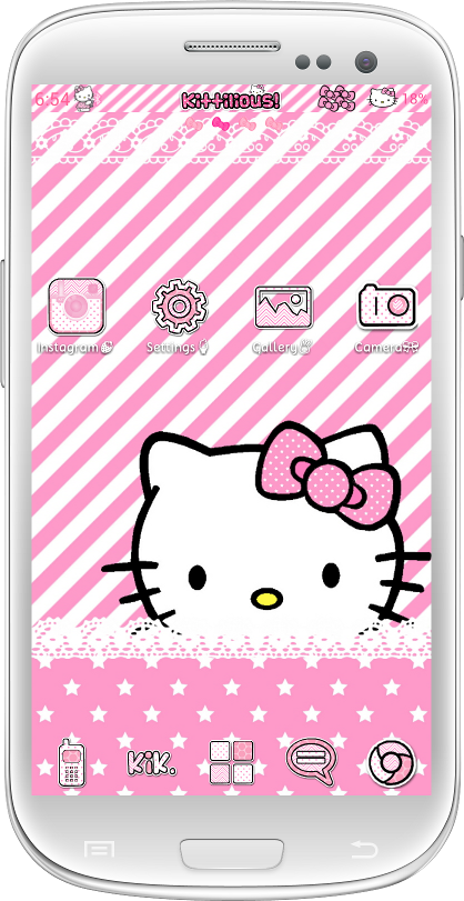 Themes for Android! - A collection of Android Hello Kitty Themes ...