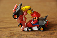 afbeelding van twee botsende lego-autootjes