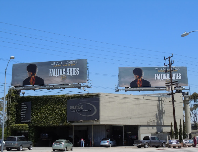 Falling Skies TV Los Angeles billboards